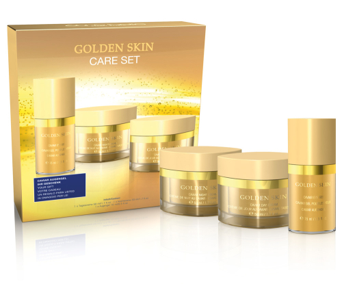 1950 Golden skin set