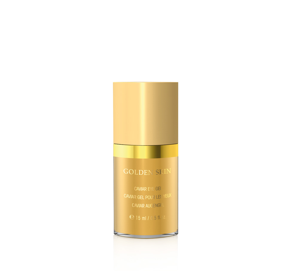3287 golden skin kavijar gel za očne regije